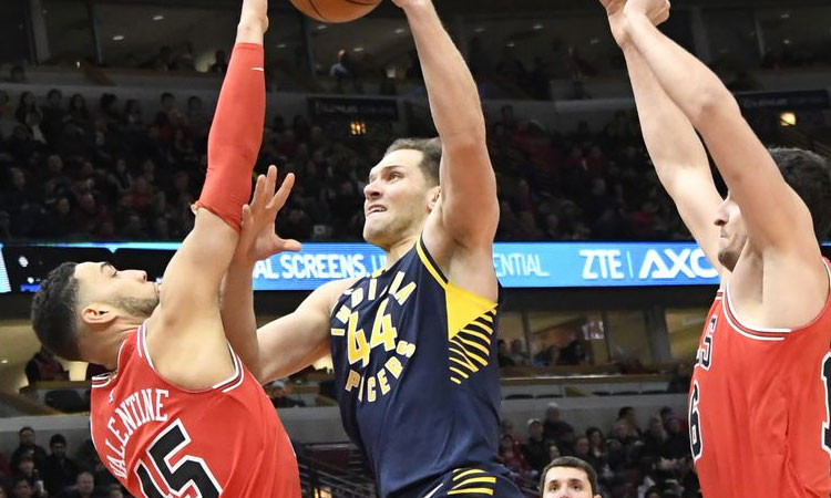 Chicago Bulls: 119 - Indiana Pacers: 107