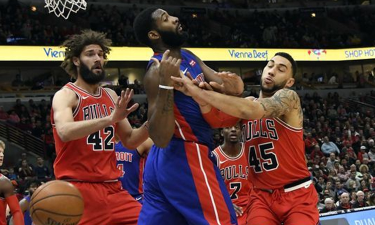 Chicago Bulls: 107 - Detroit Pistons: 105