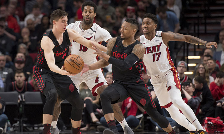 Portland Trail Blazers: 115 - Miami Heat: 99