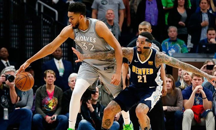 Minnesota Timberwolves: 112 - Denver Nuggets: 106