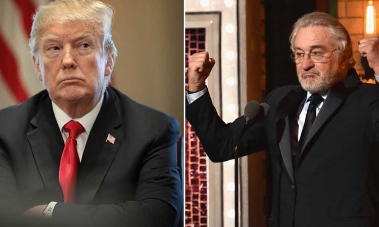 Trump'tan Robert De Niro'ya tepki
