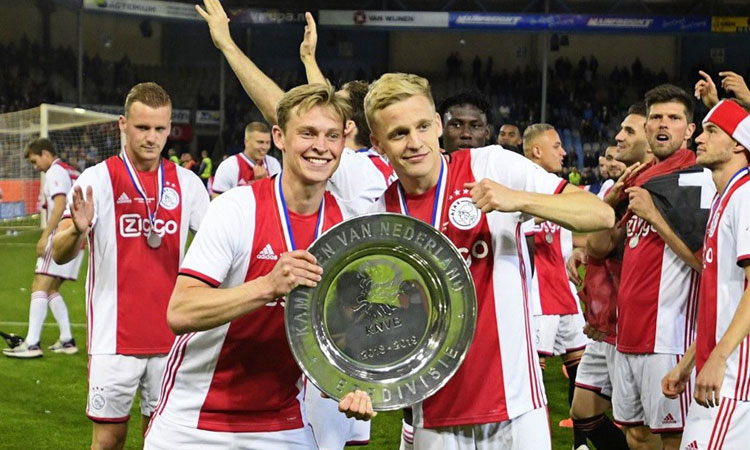 Hollanda'da şampiyon Ajax